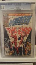 Daredevil 175 CGC 9.8 Frank Miller story & art Elektra app.