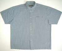 Big Shirt Ben Sherman Men's with logo chest pocket and a small cage cotton 2XL