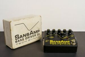 Tech 21 SansAmp Bass Driver DI pedal Excellent Used Condition