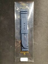 Fossil 22mm Blue Silicone Watch Band Strap 22mm S221113