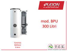 Bollitore ACS + Accumulo Puffer per Pompe di Calore PLEION mod BPU 300 L Solare