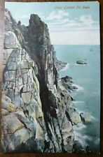 Chair Ladder Tol Pedn. Vintage Postcard