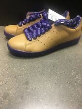 Adidas Mens Stan Smith II, Gold/Purple, Size 10