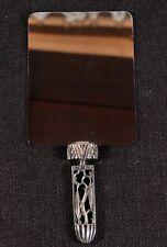 Karl Hagenauer (1898-1956): Art deco Lady Hand Mirror, great design