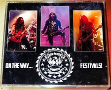 W.A.S.P. WASP-On The Way Festivals 4 DVD 2012-2016 Kiss Motley Crue Doro Ratt