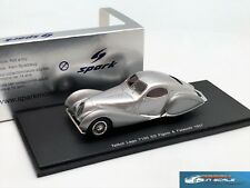 Talbot Lago T150 SS Figoni & Falaschi 1937 Silver Spark S2714 1:43