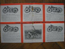 MOTO FN CATALOGO 1931 CATALOGUE HANDLEY 350 500 STANDARD SPORT TOURISTE