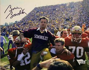 FSU Seminoles Bobby Bowden Signed 8 x 10 Photo - Fanatics Holo