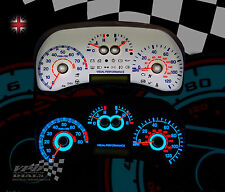 Fiat Punto mk2 120mph speedo dash interior bulb custom lighting white dial kit