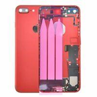 SCOCCA POSTERIORE + FLEX TELAIO BACK COVER HOUSING Apple iPhone 7 Plus rossa Red