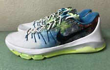 Nike Zoom KD 8 N7 VIII Mens Sz 12 White Black Liquid Lime Kevin Durant 10 11 NEW