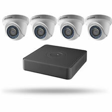 Hikvision 4Ch 1080p H.264+ 2.8mm Outdoor Surveillance Security Dvr Camera System