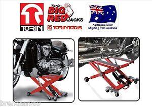 Motorcycle Jack Hydraulic Lift Harley Davidson Yamaha Honda Paddock Stand