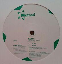 """Andro  """"Monkey Lover"""" * METHOD030 / 05er + 96er Mixes"""