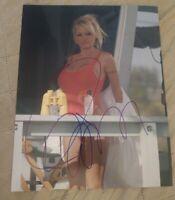 PAMELA ANDERSON SIGNED 8X10 PHOTO SEXY BAYWATCH W/COA+PROOF RARE WOW