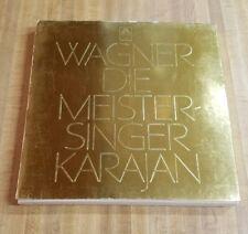 WAGNER 5-Lp BOX Die Meistersinger ADAM DONATH KOLLO von KARAJAN Angel SEL-3776