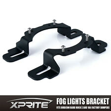 LED Fog Light Mounting Bracket for Jeep Wrangler JK Hard Rock Rubicon X Edition