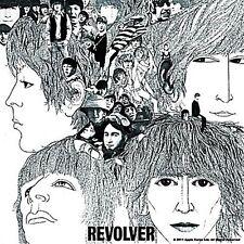 Beatles Revolver LP Cover fridge magnet 75mm x 75mm (ro)