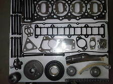 FOR MITSUBISHI PAJERO 3.2 Di-D TD DIESEL TIMING CHAIN KIT HEAD GASKET SET+BOLTS