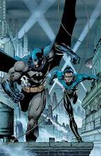 JIM LEE rare BATMAN NIGHTWING paper giclee GOTHAM'S CRIMEFIGHTERS 2007 + COA!!