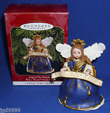 Hallmark Ornament Madame Alexander Holiday Angels #2 1999 Angel of Nativity Used