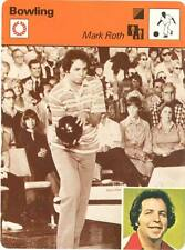 MARK ROTH 1979 Sportscaster Card #70-03 High #  Bowler