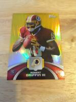 Robert Griffin III Redskins 2012 Topps Refractor Rookie #TFHM-RG