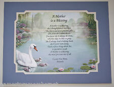A MOTHER IS A BLESSING Personalized Poem  Birthday or Mother's Days Gift Idea