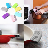 Grip Silicone pot Holder Sleeve Pot Glove Pan Handle Grip Kitchen Tools