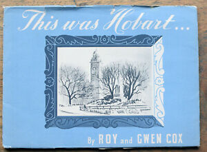 OLD BOOKLET This Was Hobart  1945