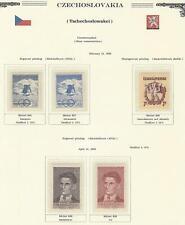 1950 Year Set, Mi. 605 - 642, MNH, Postfrisch **, (40 items)
