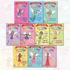 Rainbow Magic Early Reader Collection 10 Books Set Shannon By Daisy Meadows ,New