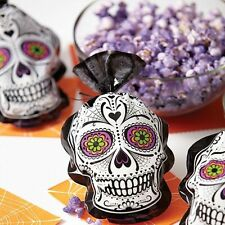 Day of the Dead Skull Shaped Halloween Treat Bags 15ct  from Wilton #0450 - NEW