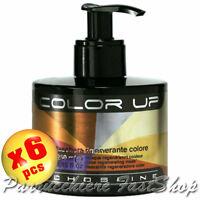 Color Up Regenerating Mask 6pcs x 250ml Echos Line ® Maschera rigenerante colore