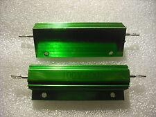 4 ohm 100w dummy load resistor aluminium clad 4R J 4RJ attenuator resistive amp