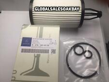 MERCEDES BENZ Genuine OEM Engine Oil Filter Kit 2761800009