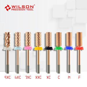 Small Barrel - ROSE - WILSON Tungsten Carbide Nail Drill Bit Electric