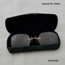 AO 12K Gold Fill PINCE NEZ Antique Eyeglasses & Camel Back Case