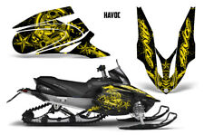 Yamaha APEX XTX Decal Wrap Graphic Kit Part Sled Snowmobile 2006-2011 HAVOC YLLW