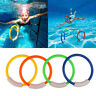 Kids Underwater Swimming Pool Accessories Diving Rings Childern Water Play Toys