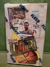 1993-94 Fleer Ultra Basketball Box Series 1 Factory Sealed Jordan Scoring king?