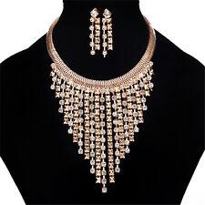 Fashion Charm Jewelry Pendant Chain Choker Chunky Statement Bib Collar Necklace