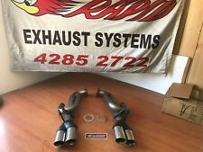 VE - VF COMMODORE DG 409 S/STEEL SPORTS EXHAUSTS  - SEDAN - S/W