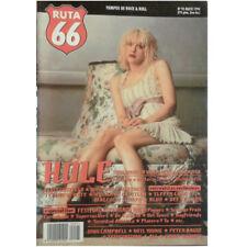 REVISTA RUTA 66 #95 (Mayo 1994) . hole courtney love elvis costello donovan