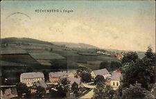 Rechenberg bei Bienenmühle Sachsen Erzgebirge 1911 Gesamtansicht Verl. Zieschang