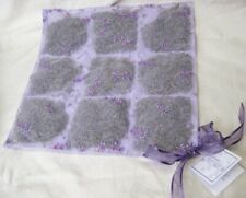"Sonoma Lavender Drawer Liner & Pillow Insert 12"" square - smells Heavenly!"