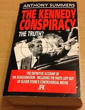 THE KENNEDY CONSPIRACY THE TRUTH Anthony Summers Book (Paperback)