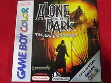ALONE IN THE DARK IN THE NEW NIGHTMARE GBC NINTENDO GAME BOY COLOR