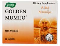 Altai Mumijo Pure Golden Siberian Shilajit 20-900 tab 100% Natural