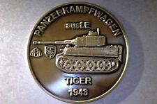 German Tiger Tank Mittelfeld Works Production Bronze Token Coin